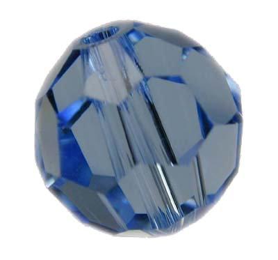 Swarovski 6mm round crystal - Light Sapphire