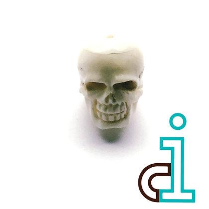 Smaller Bali Skull #10- hand carved