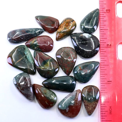BLOODSTONE- Lot#8- CABOCHON
