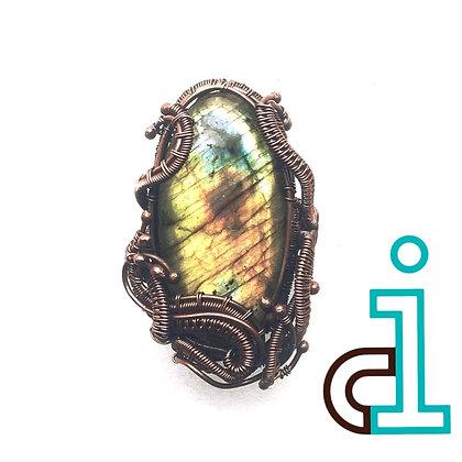 Labradorite Storm #4 Ring