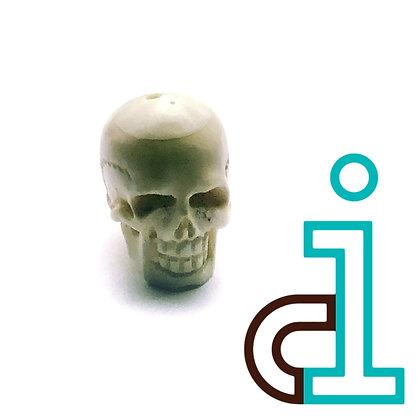 Smaller Bali Skull #11- hand carved