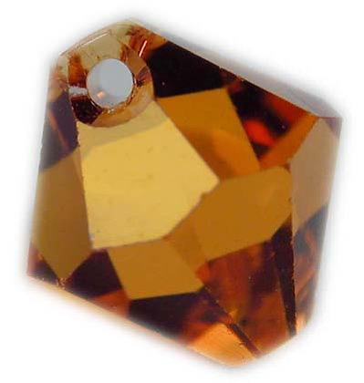 Swarovski 6mm bicone crystal dangle