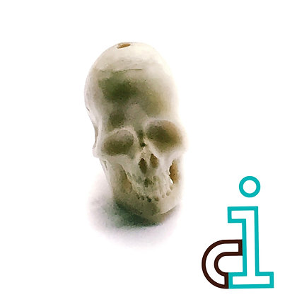 Bali Skull  #5- hand carved