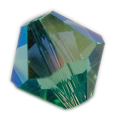 Swarovski 6mm bicone crystal -Erinite