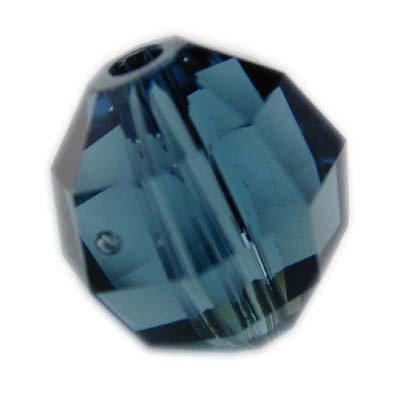 Swarovski 4mm round crystal -Montana