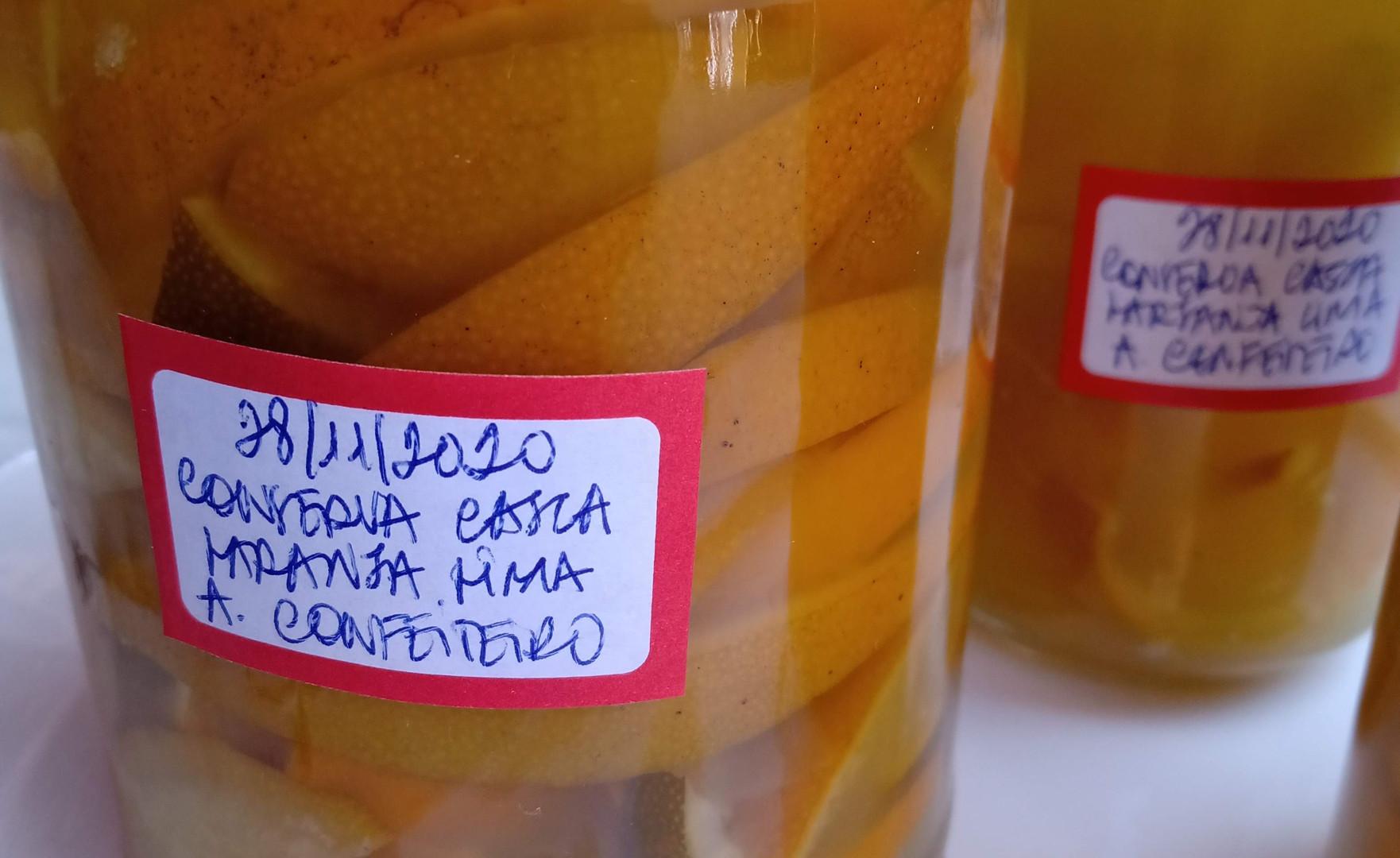 Conserva | Casca de laranja lima