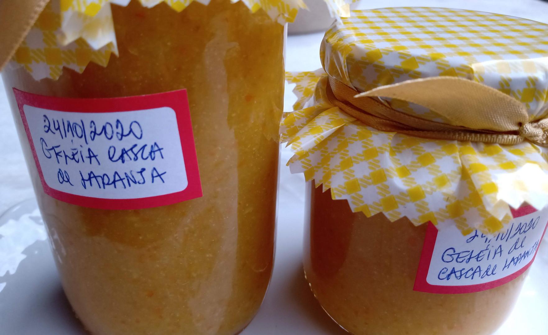 Conserva | Geléia de casca de laranja