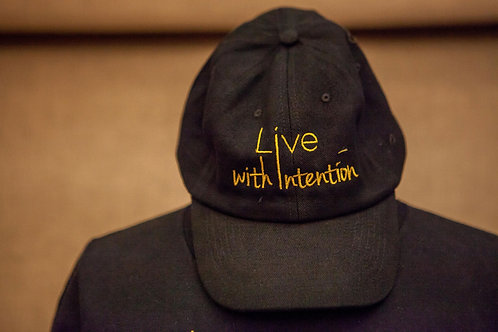 Live With Intention Cap