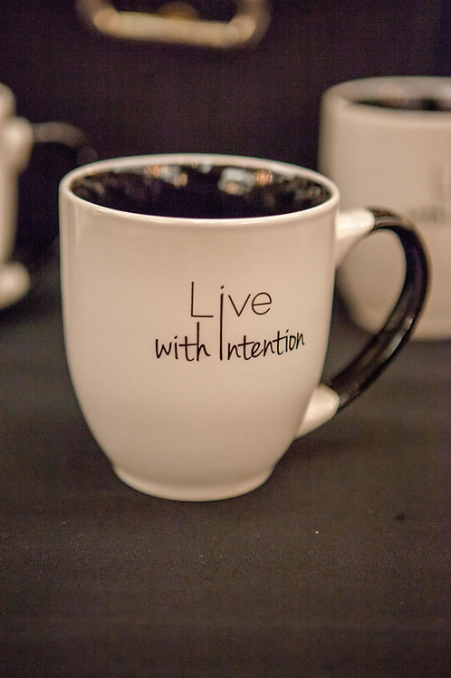 Live With Intention Mug