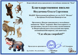 Неудачина Ольга Сергеевна