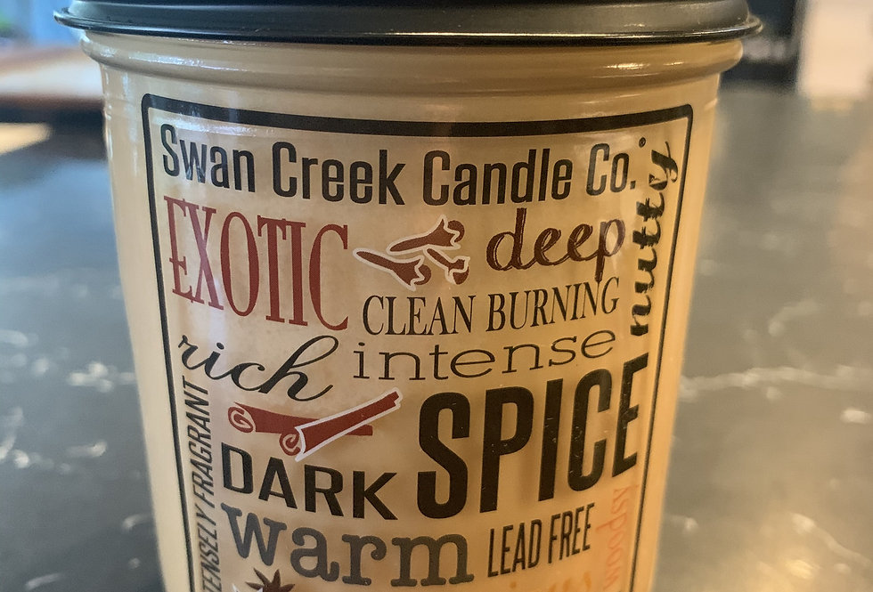 Spiced Orange & Cinnamon Candle 12oz