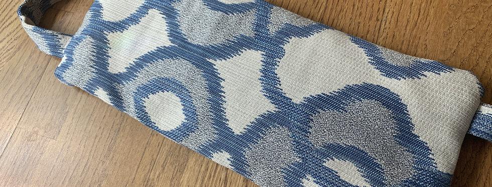 Yoga Sandbag, Blue/White