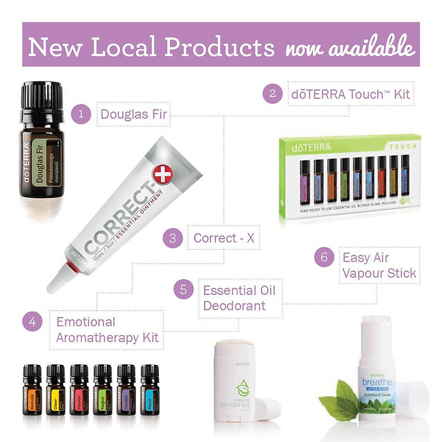 New dōTERRA Products launched at Convention Gold Coast 2016