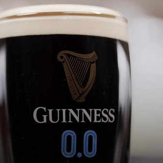 A Guinness without alcohol?
