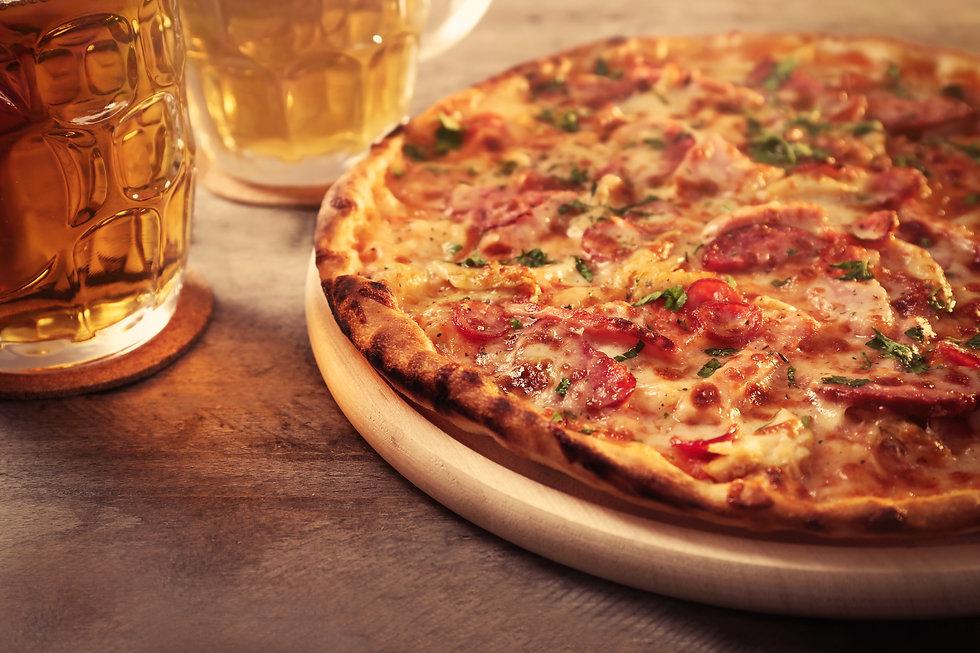 Sir Sydney Smith pizza