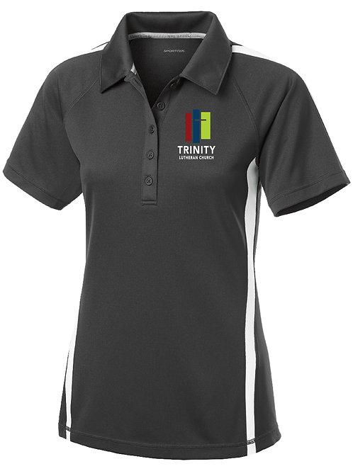 Sport-Tek® Ladies PosiCharge® Micro-Mesh Colorblock Polo