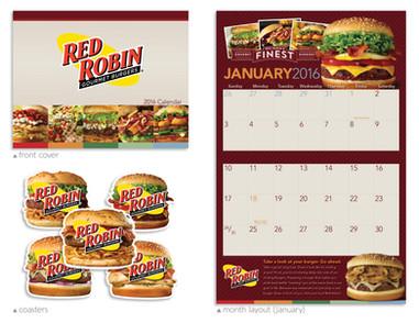 Red Robin Calendar