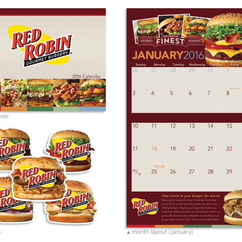 Red Robin Calendar