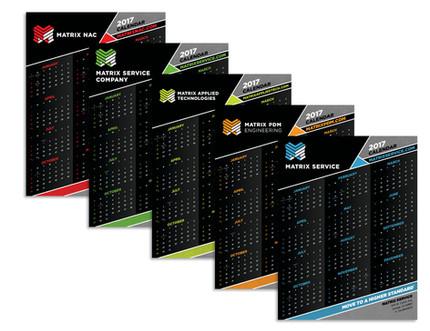 Matrix Engineering Calendars
