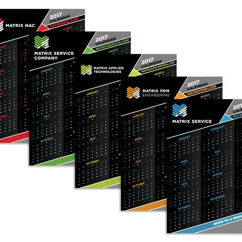 Matrix Brand Calendars