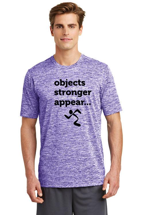Sport-Tek® PosiCharge® Electric Heather Tee - Purple Electric