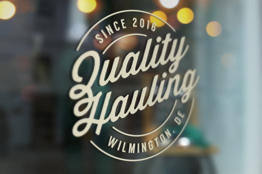 Quality Hauling Logo V1