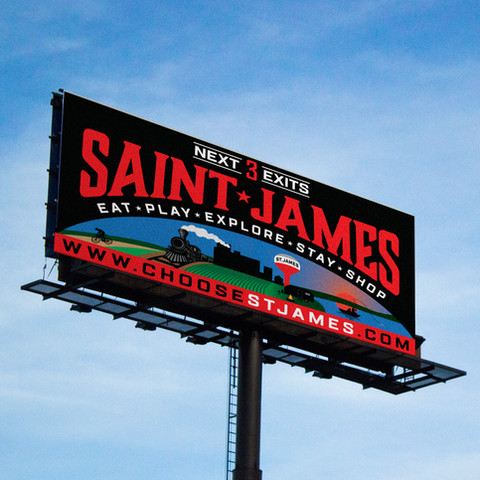 Saint James Billboard