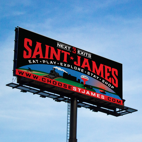 Saint James Billboard