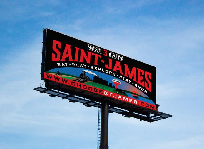 St. James Billboard