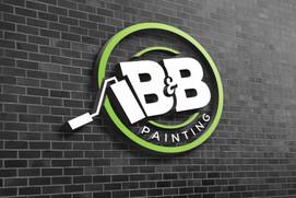 B & B Painting Logo