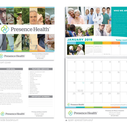 Presence Health Calendar