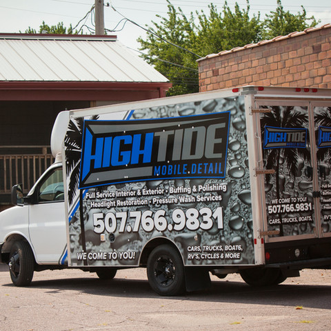 High Tide Mobile Detailing Vinyl Wrap