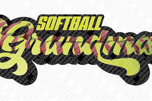Softball Grandma Graphic