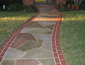 Traditional and Decorative Concrete