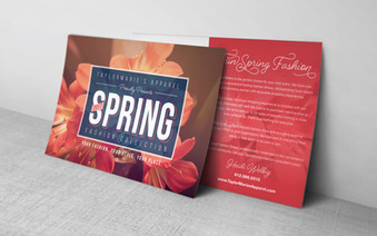 TaylorMaire's Spring Flyer Postcard