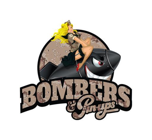 Bombers and Pinups Logo