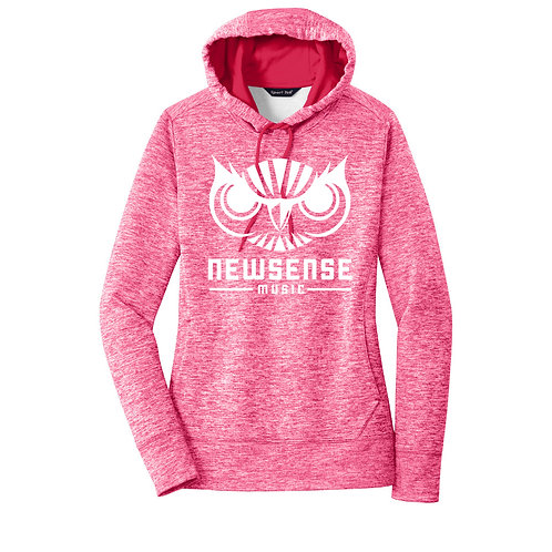 Electric Heather Fleece Hoodie - Women's