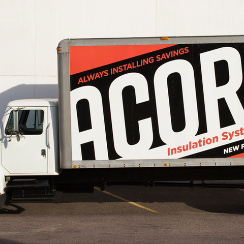 Acorn Insulation Vinyl Wrap