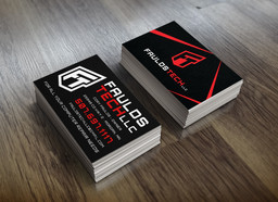 Fauld Tech Business Cards