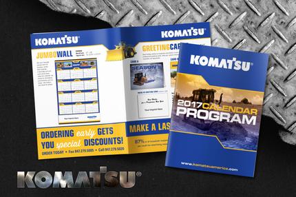 Komatsu Calendar Catalog