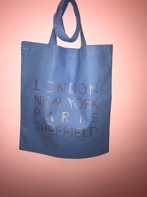 Tote Bag - My Favourite Cities