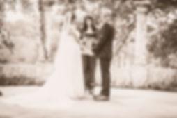 Mari + Landon Wedding Ceremony at Creekside Wedding Venue