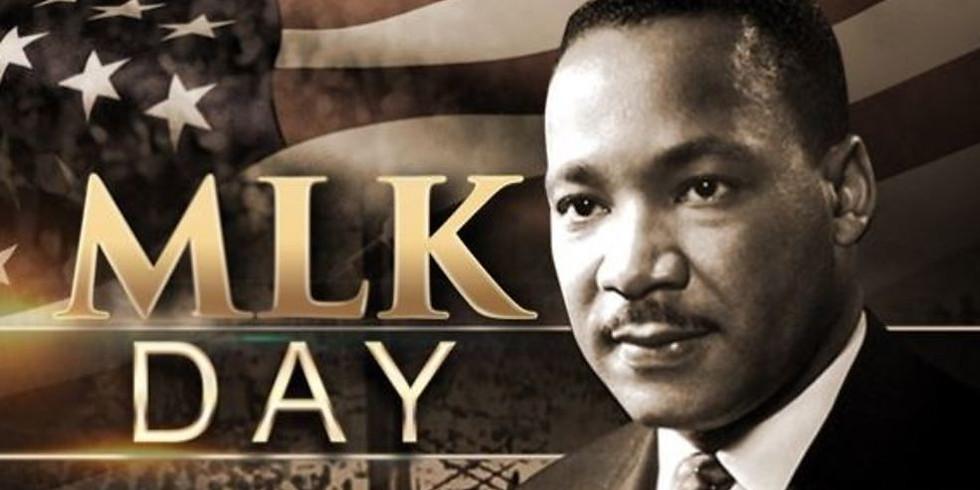MLK Day - Closed