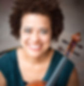 Vannia Phillips and her viola