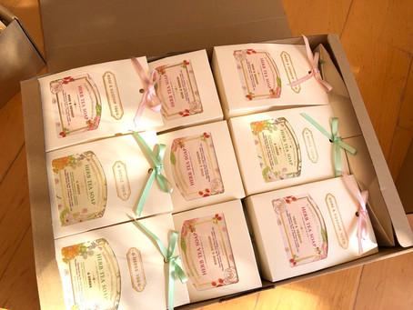 「コクーンの大感謝祭」YUMENOKI FACTORY 「ハーブティー石鹸」初参加