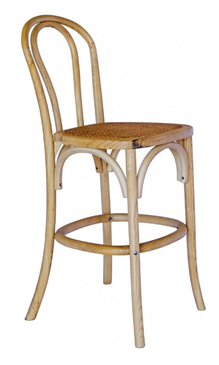 Bentwood Natural Stool