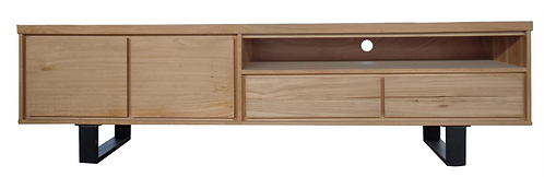 Messmate with Metal TV Unit