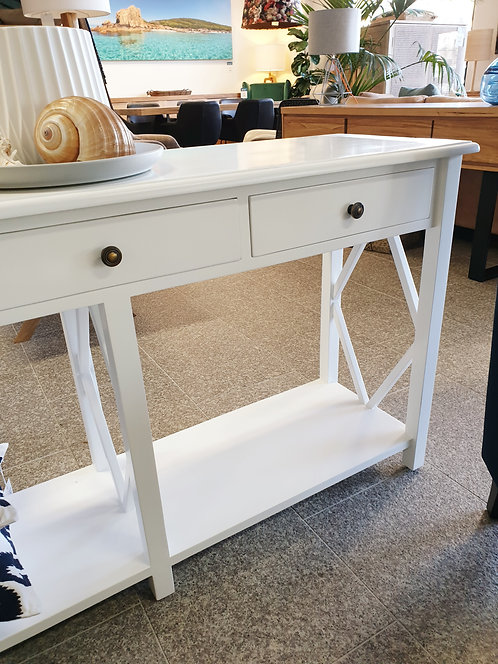 Shorehaven console with drws white