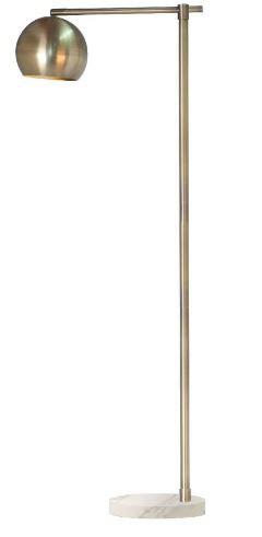 Brass - Marble Floor lamp