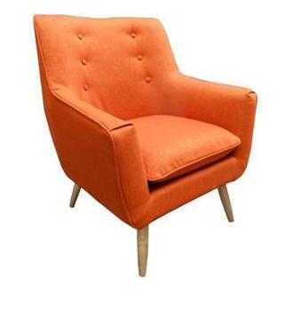 Retro Armchair Orange